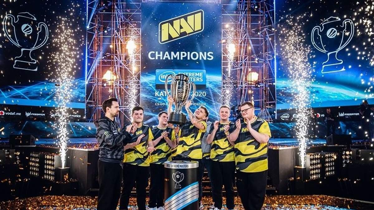 Команда NAVI перемогла в КС Go турнірі – деталі