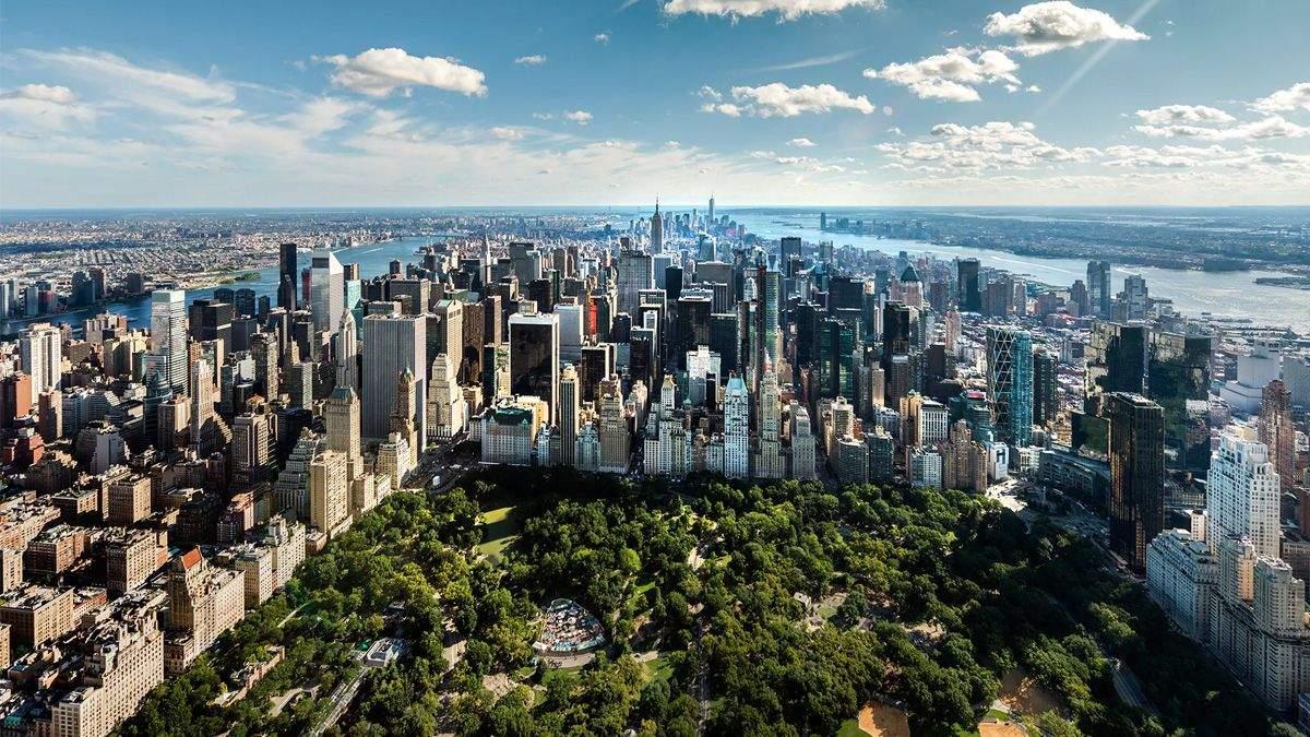 Нью Йорк з Емпайр-Стейт-Білдінг