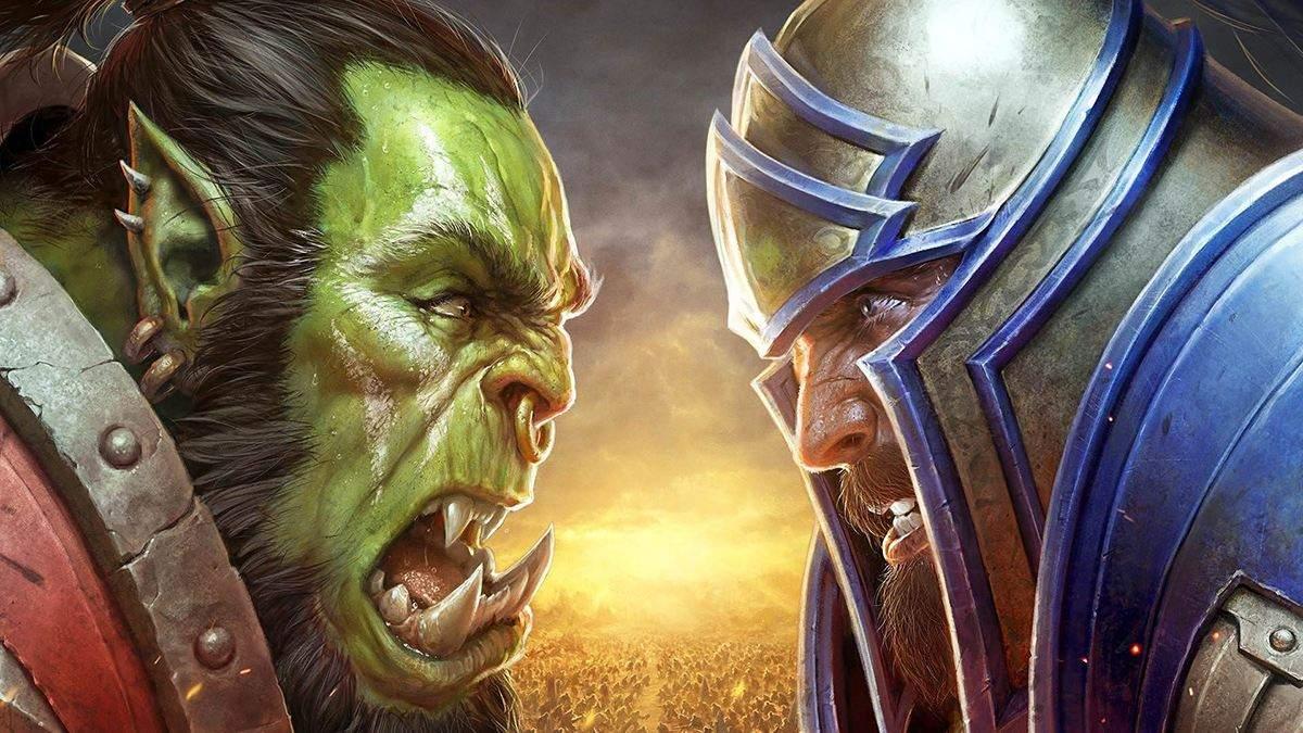 Blizzard выпустила фирменные маски с символикой Орды и Альянса