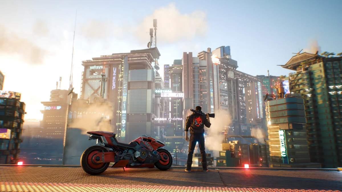 Новий трейлер Cyberpunk 2077