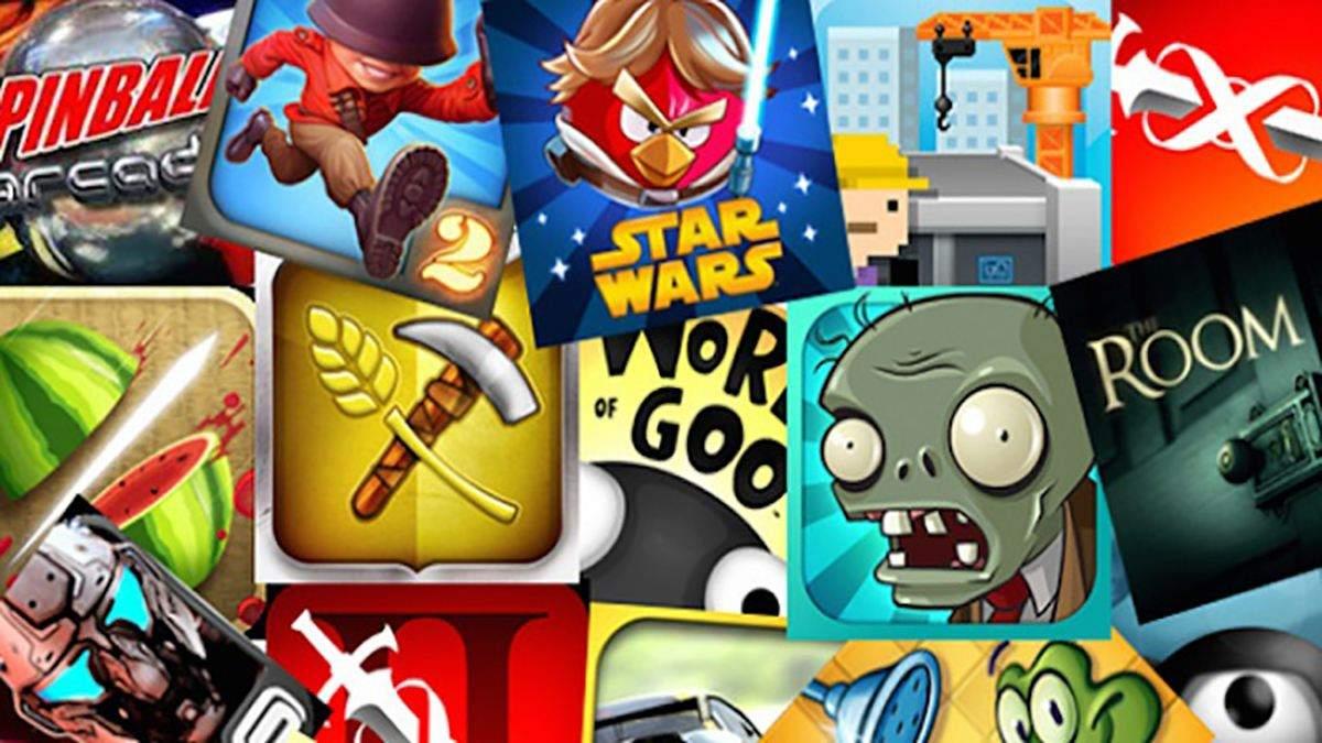 Топ 10 найпопулярніших мобільних ігор за останній тиждень