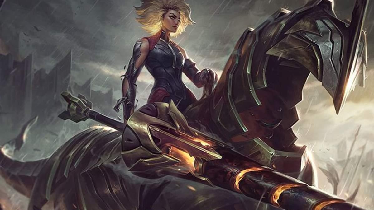 Новый чемпион League of Legends – всадница Релл