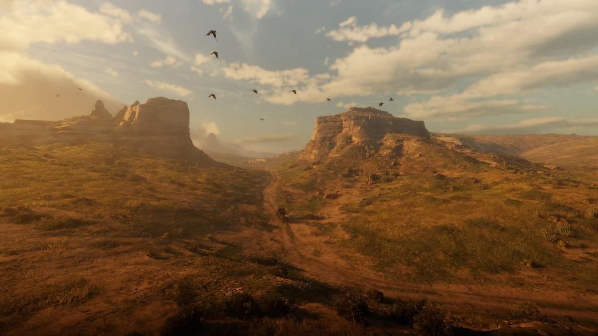 На телевидении спутали скриншот из Red Dead Redemption 2 с реальным фото