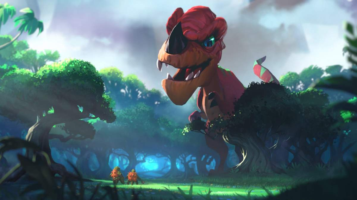 Игроков в World of Warcraft тронула история о девочке и динозавре