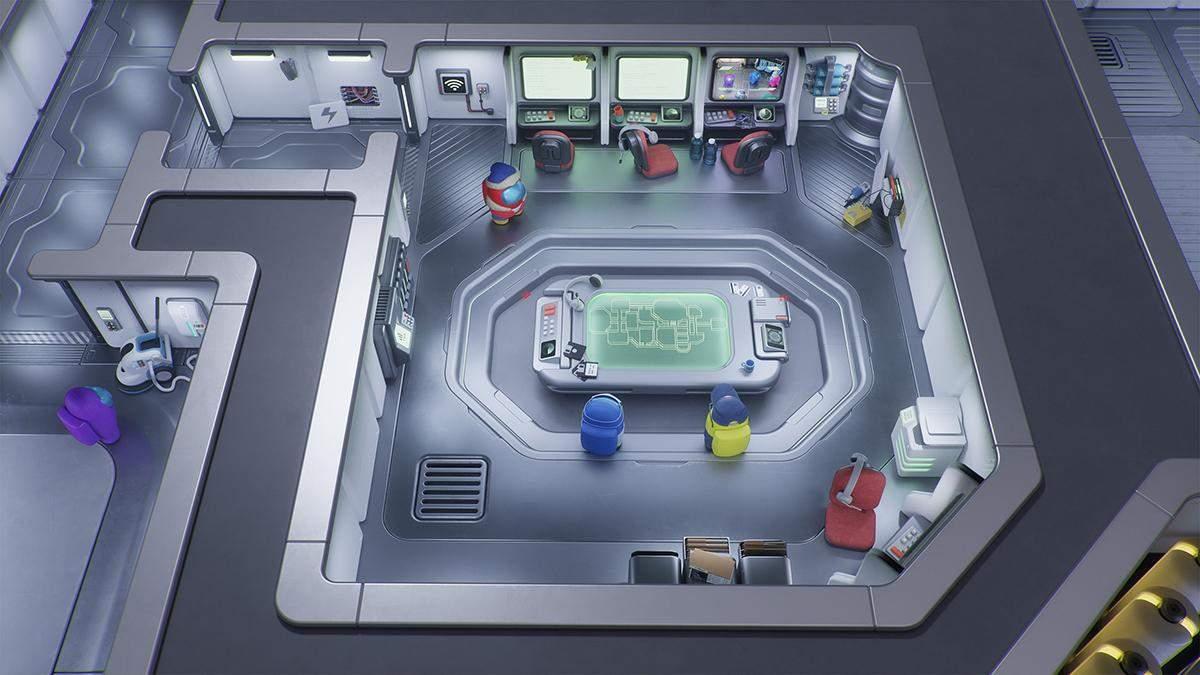 Among Us в 3D: профессионалы провели фантастическую работу