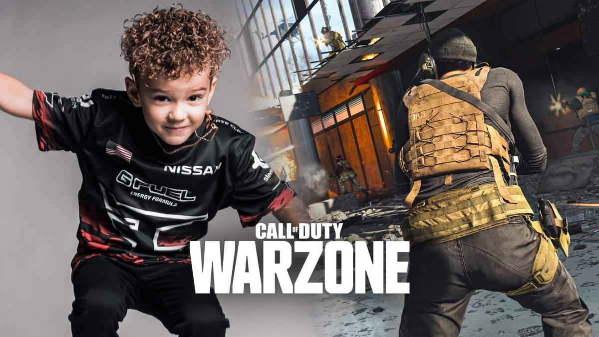 Вірусне відео про бан шестирічного стрімера в Call of Duty: Warzone виявилось фейком