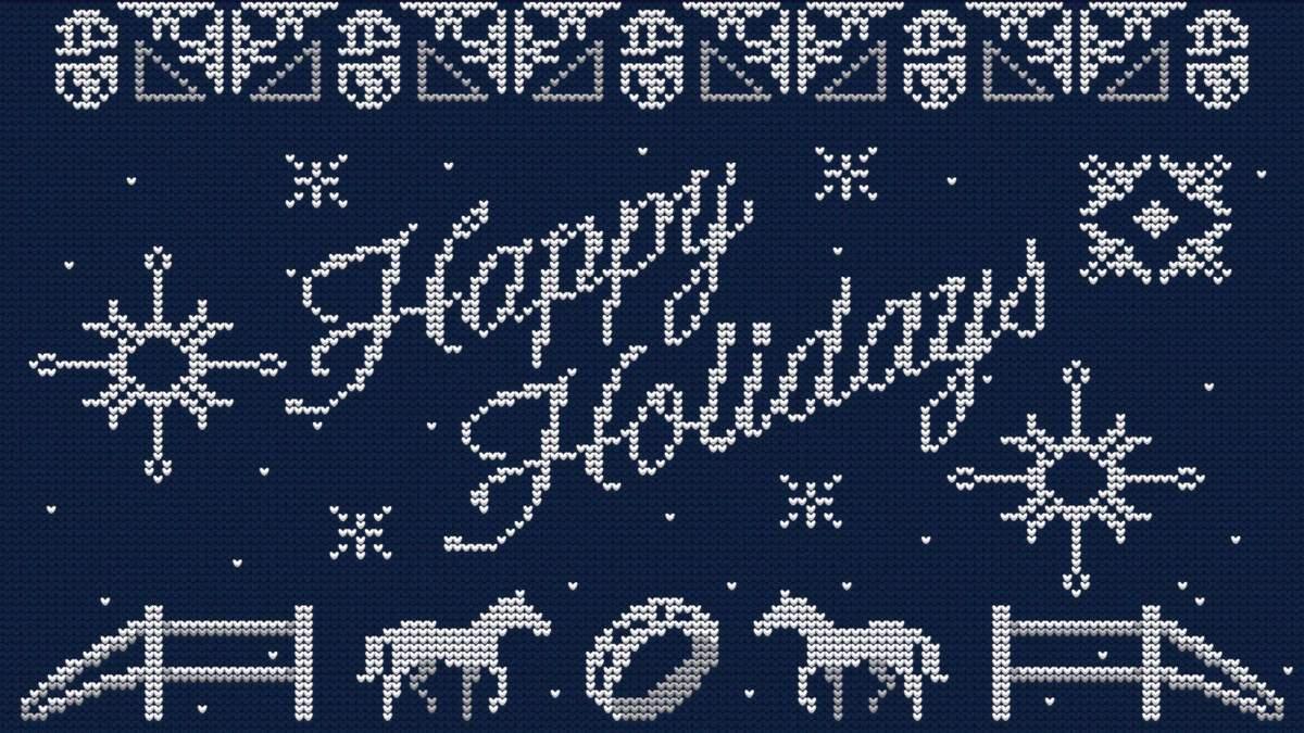 Поздравления с Новым годом и Рождеством от разработчиков видеоигр: подборка праздничных открыток