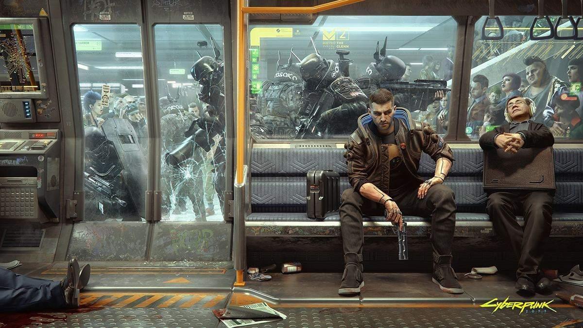 Анонс DLC для Cyberpunk 2077 и остатки метрополитена в Найт-Сити