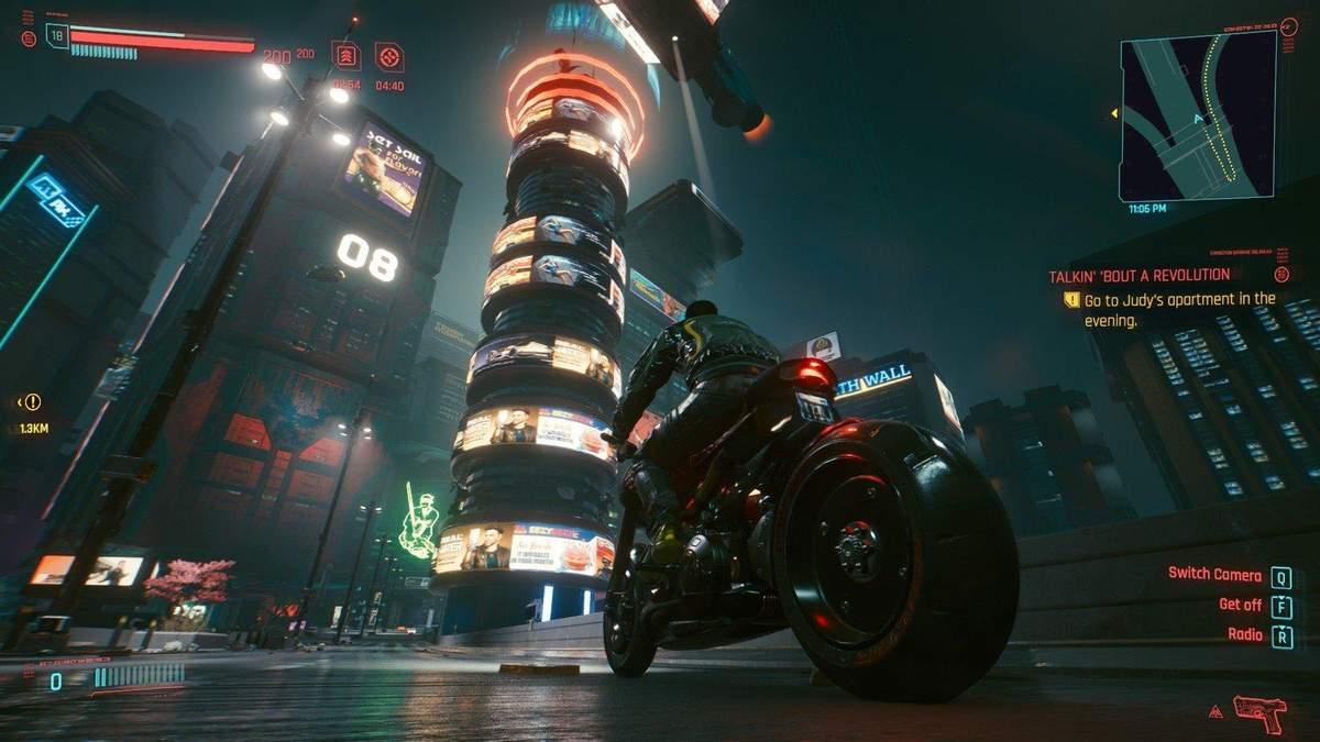 Интересный челлендж для игроков Cyberpunk 2077