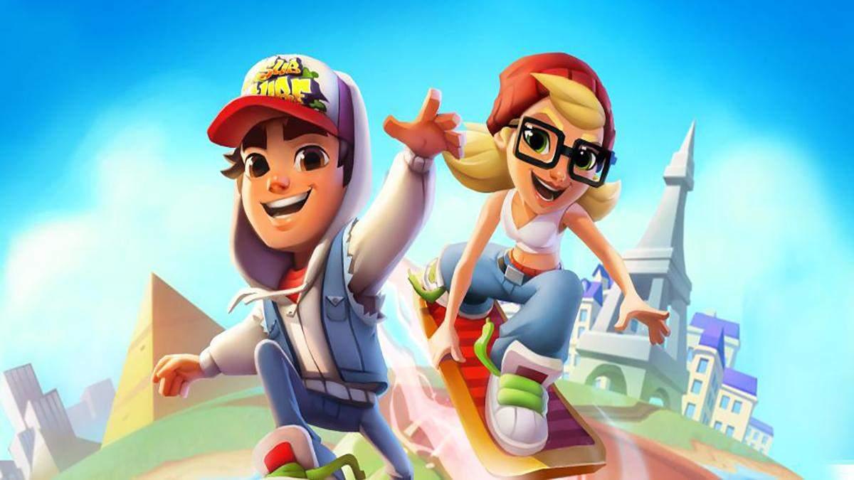 Among Us та Subway Surfers у топі: найпопулярніші мобільні ігри у 2020