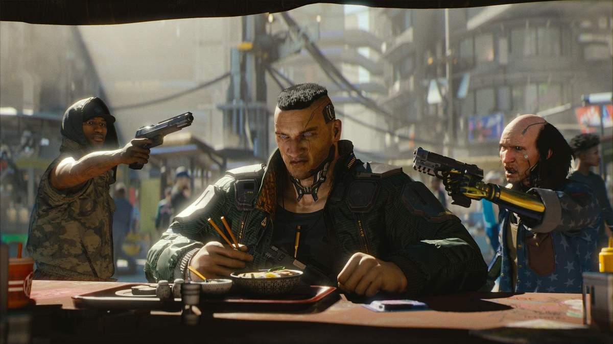 Мультиплеер Cyberpunk 2077: в сеть слили первые подробности