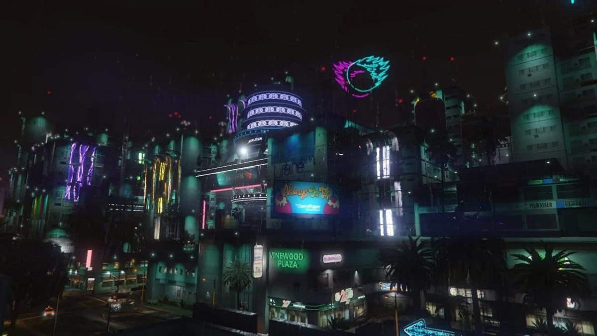 У GTA V відтворили Найт-Сіті із відеогри Cyberpunk 2077 – відео