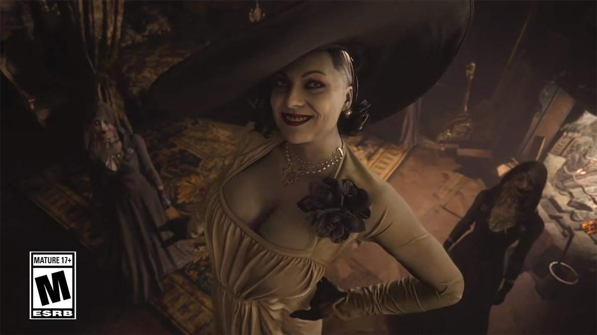 Очень высокая вампирша с Resident Evil Village понравилась геймерам