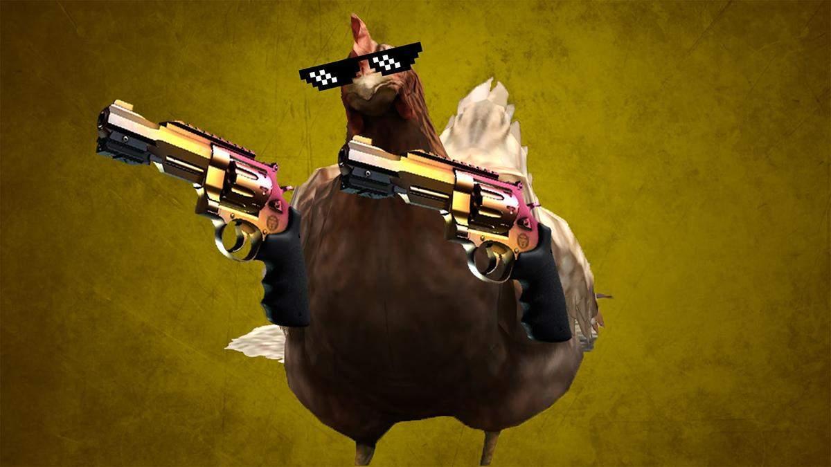 Истребители куриц: статистика по убийствам птиц в CS:GO за 2020 год
