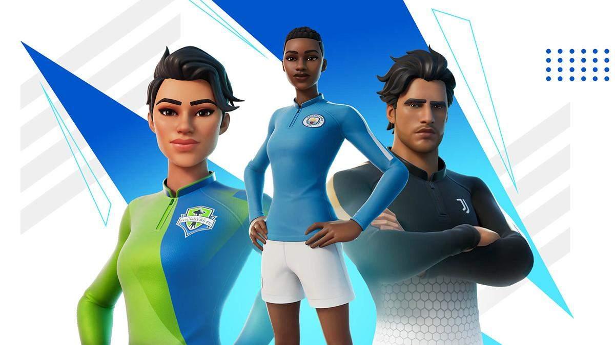 Футбольное обновление в Fortnite: новые формы и партнерство с Миланом