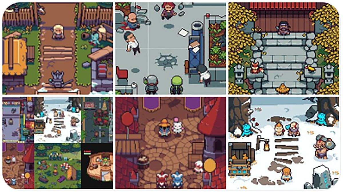 Пиксельные The Witcher и The Last of Us: оригинальные арты от британца
