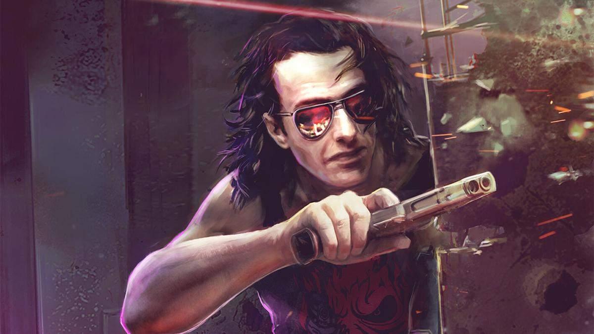Концепт Джонні Сільверхенда з Cyberpunk 2077