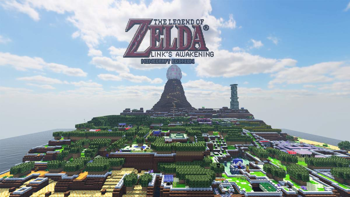 The Legend of Zelda: Link's Awakening у Minecraft