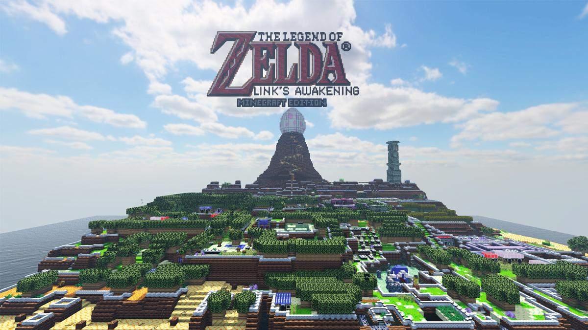 The Legend of Zelda: Link's Awakening в Minecraft