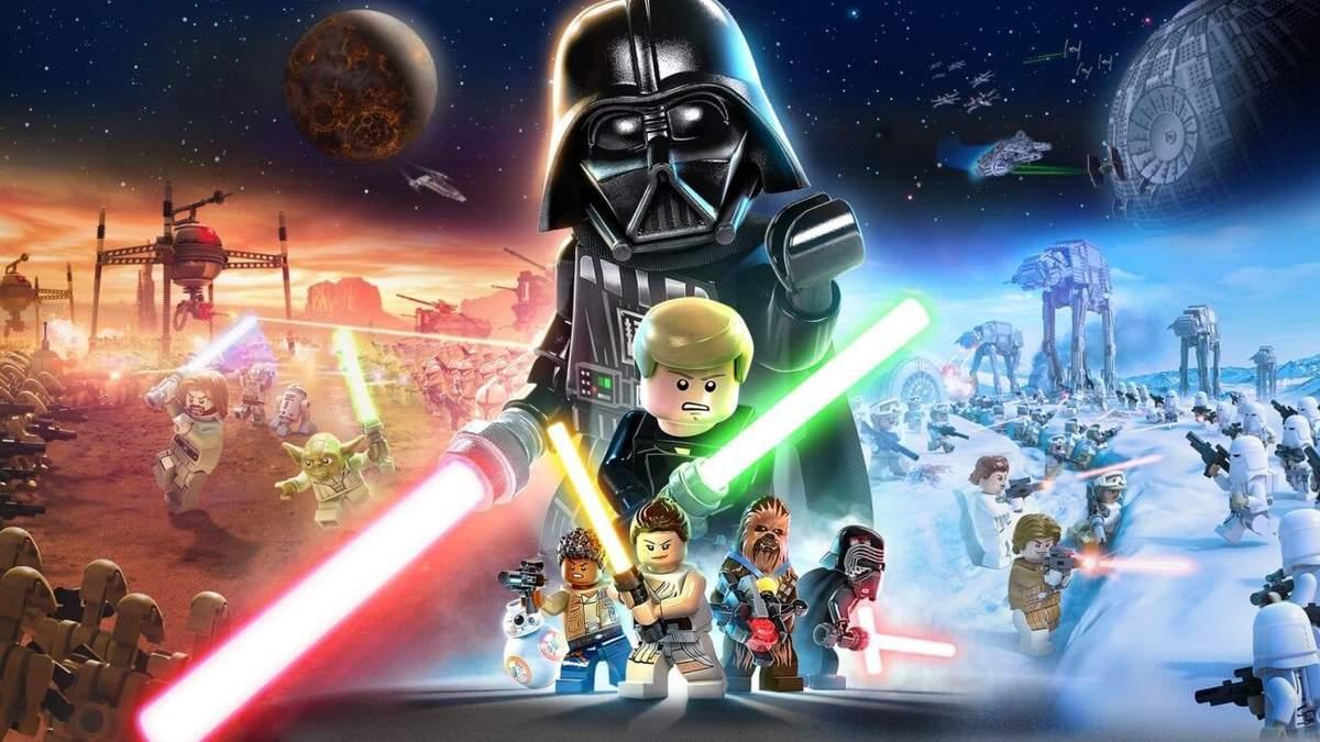300 игровых персонажей и 23 планеты: первые детали о LEGO Star Wars: The Skywalker Saga