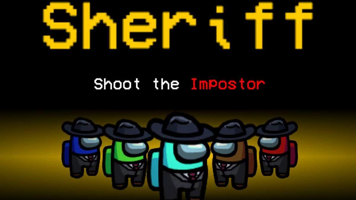 Мод добавляет роль Шерифа в Among Us