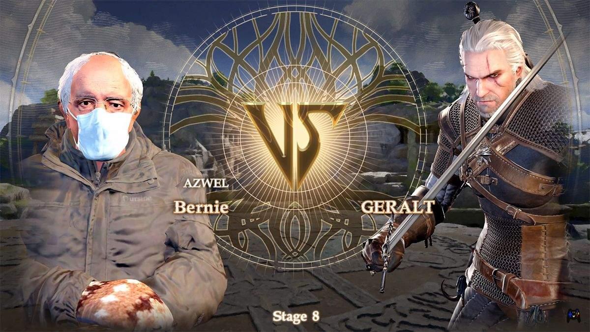 Даже Геральт не остановил его: в известную видеоигру добавили героя популярного мема – видео