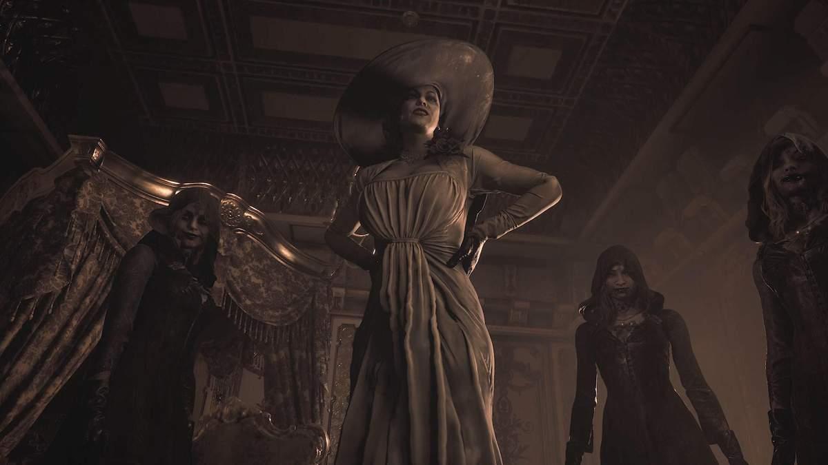 Разработчики Resident Evil Village назвали точный рост Леди Димитреску
