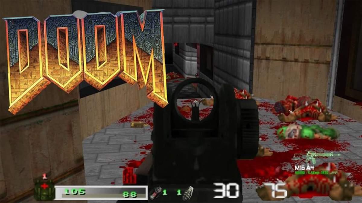 Call of DOOM: Black Warfare – мод що об'єднує DOOM та Call of Duty