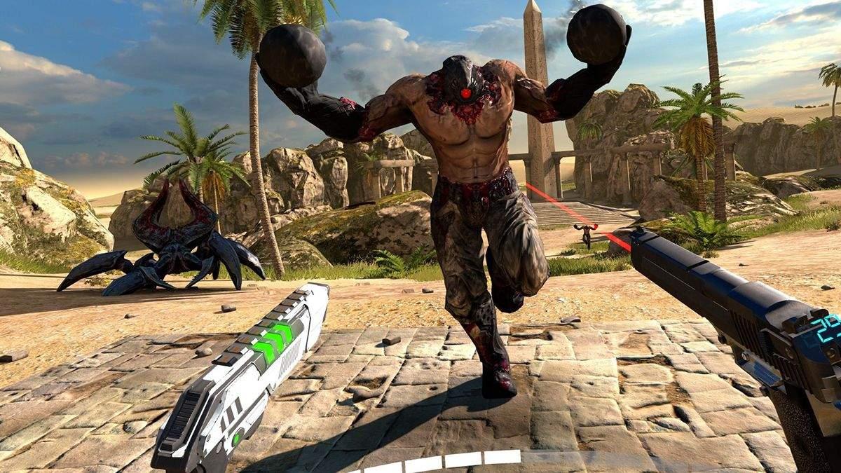 Безголовый камикадзе из серии Serious Sam пожаловал в CS:GO