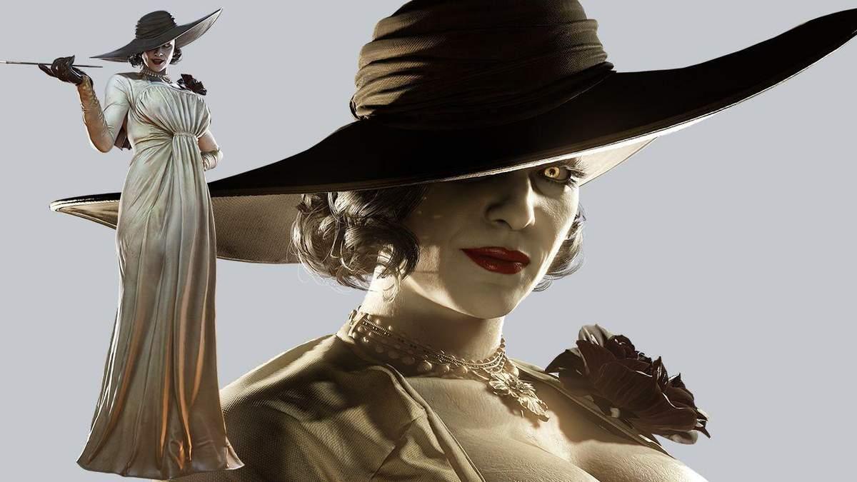 Леді Дімітреску лише 3: топ найвищих персонажів із Resident Evil