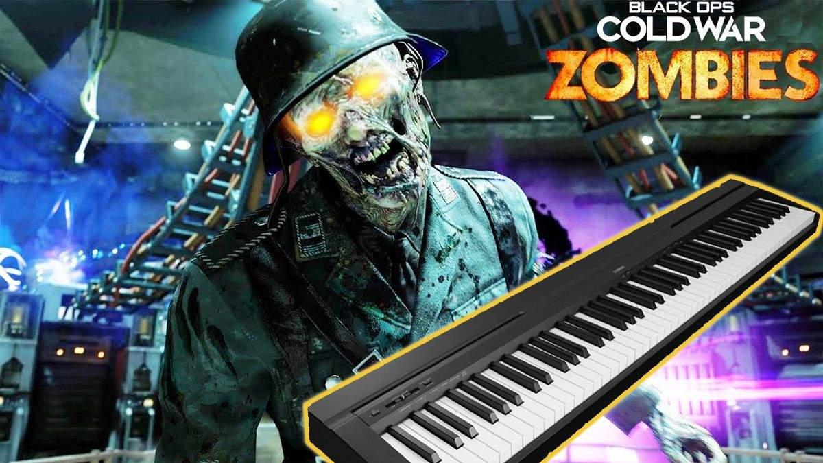Пианино вместо контроллера в Call of Duty: Black Ops Cold War