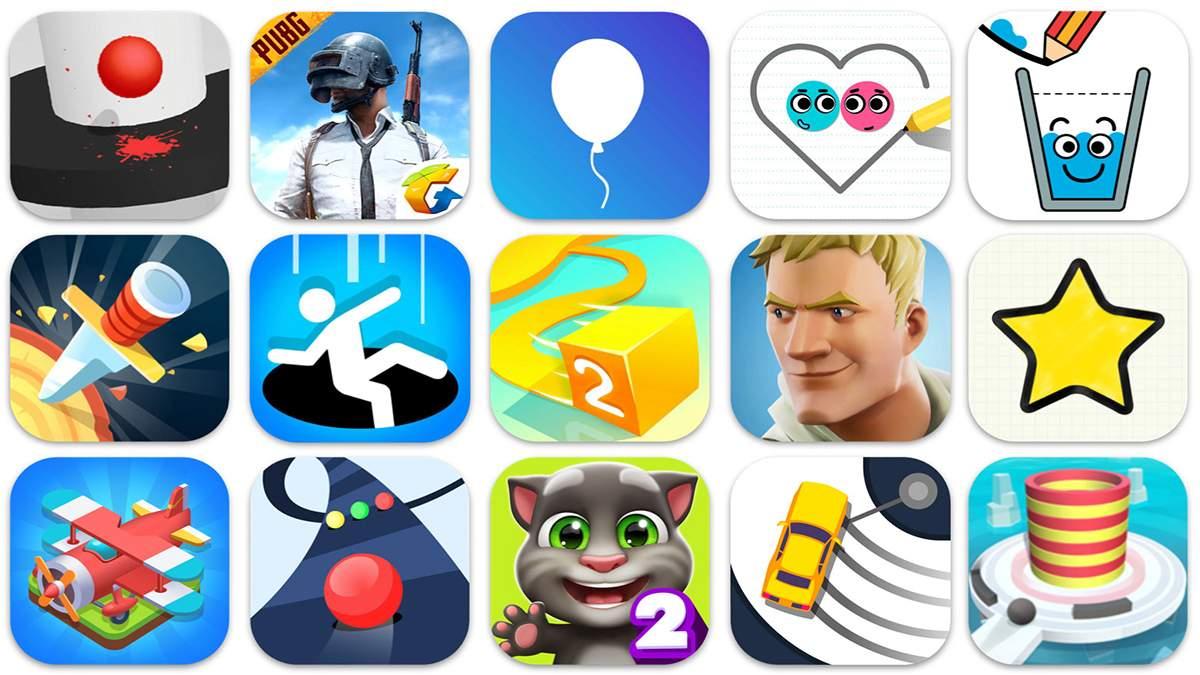 Названы топ 10 самых популярных мобильных игр за последнюю неделю