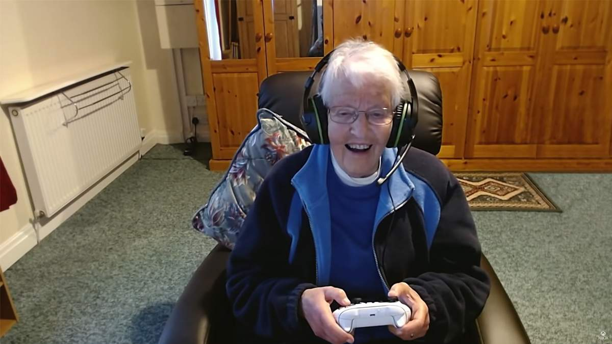 Xbox Series X и видеоигры помогли бабушке и внуку стать ближе