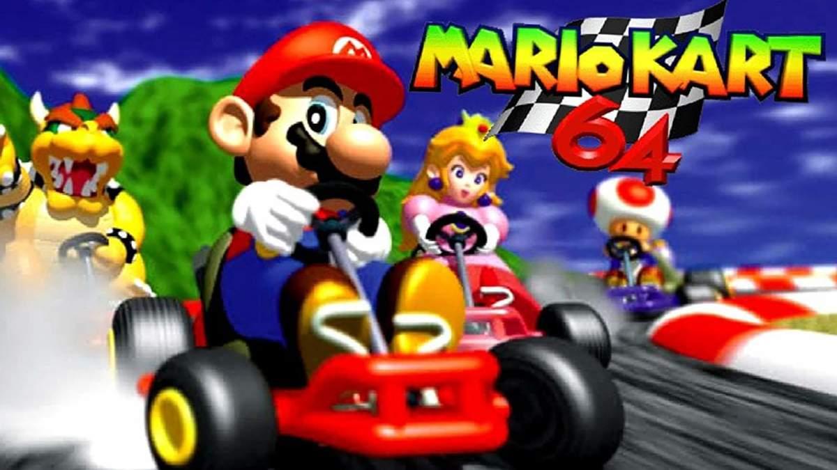 Спідраннер Abney317 встановив новий рекорд у Mario Kart 64