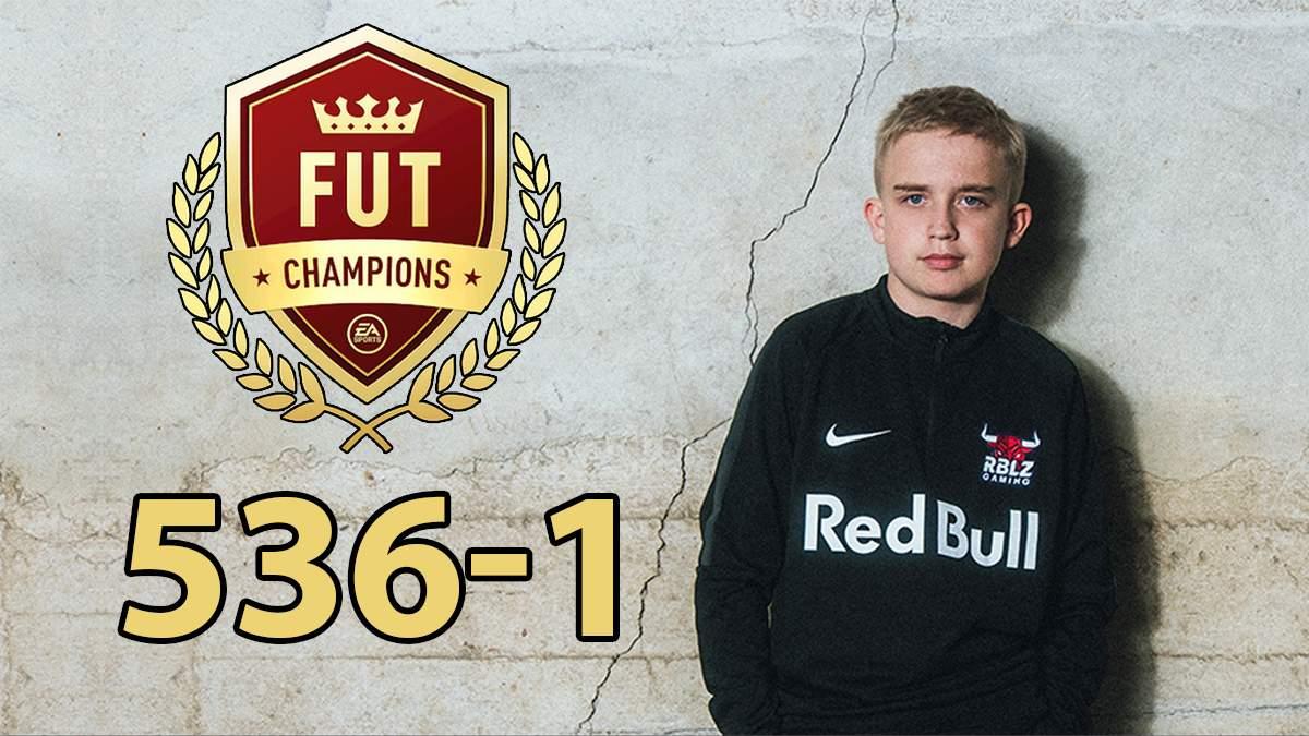 15-летний юноша выиграл 536 матчей подряд в FUT Champions FIFA 21