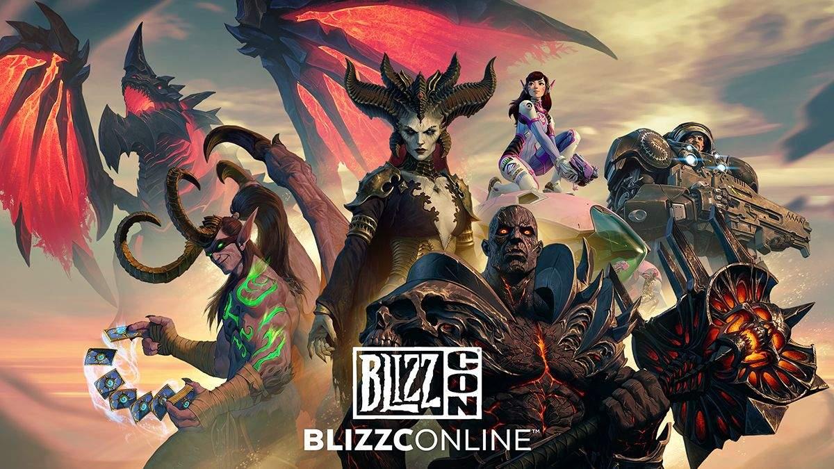 BlizzConline: ремастер Diablo II,  Overwatch 2 та Hearthstone