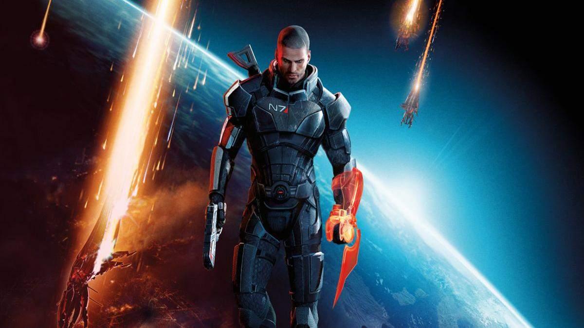 Художник показав Генрі Кавілла в образі Шепарда з Mass Effect