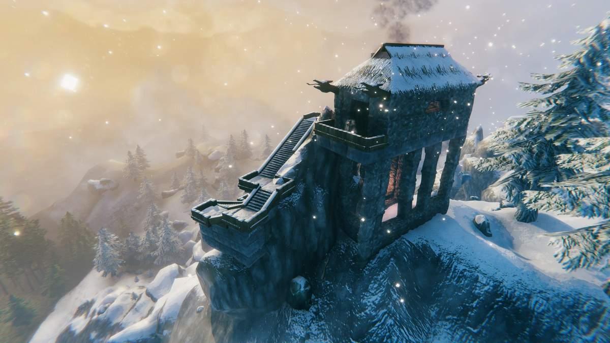Большое строительство в Valheim: башня Саурона, Минас Тирит и крутые базы игроков – подборка