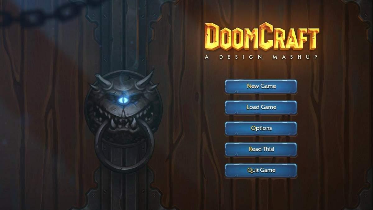 DoomCraft: геймдизайнер вирішив об'єднати Doom та Warcraft