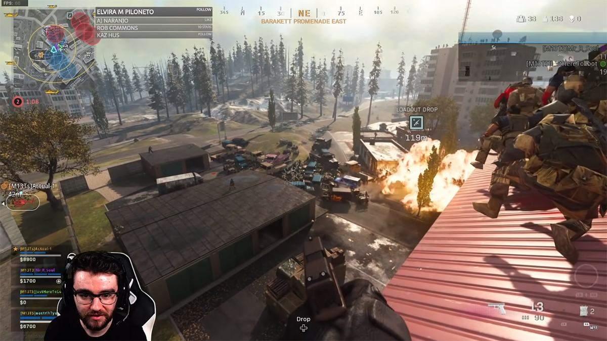 Игроки в Call of Duty: Warzone решили взорвать всю технику в игре