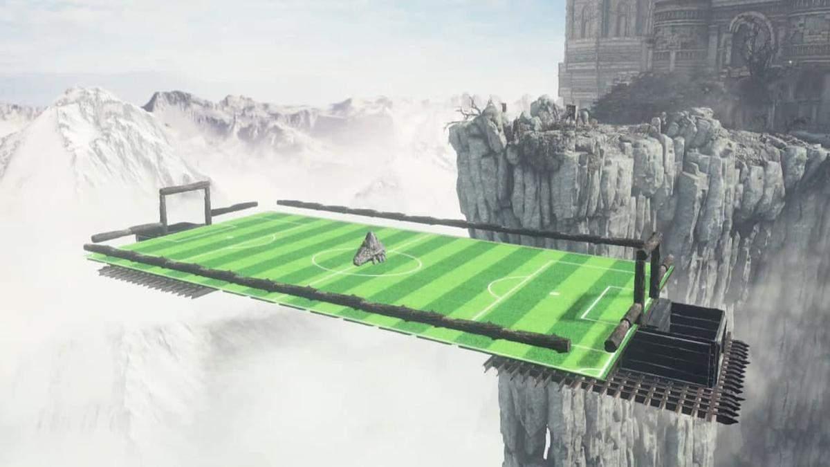 В Dark Souls 3 добавили футбол и бег с препятствиями