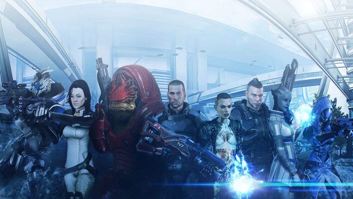 Статистика из Mass Effect: количество врагов, которых убил Шепард