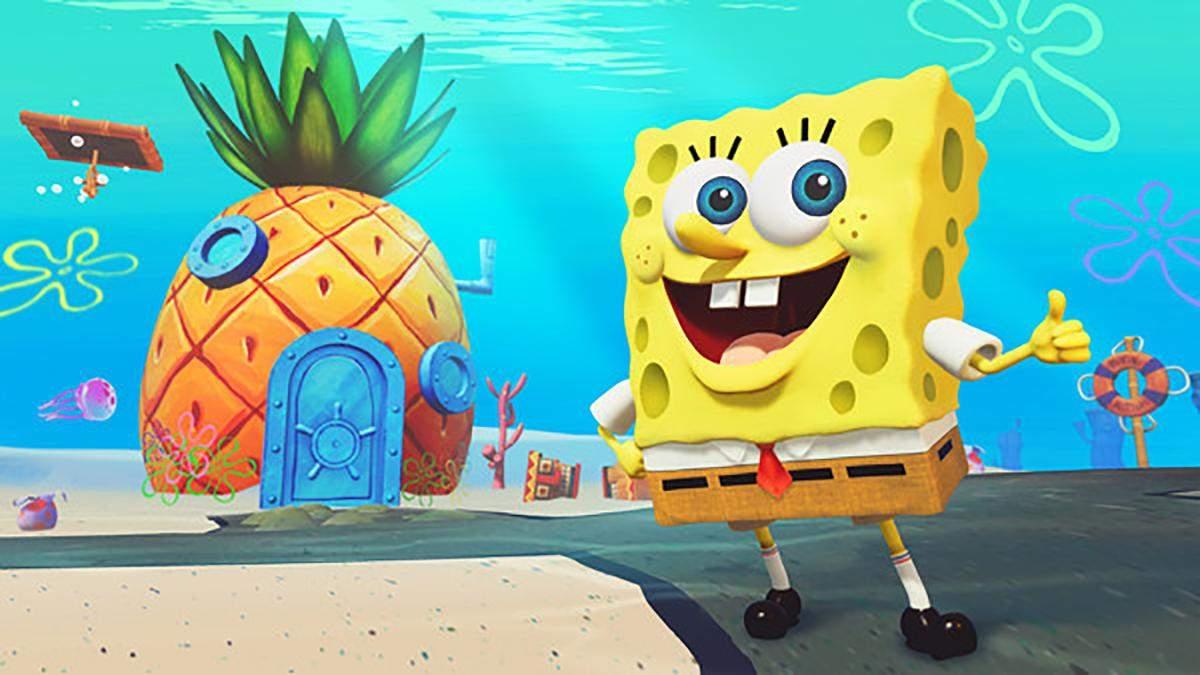 Неординарний метод швидкісного проходження SpongeBob SquarePants
