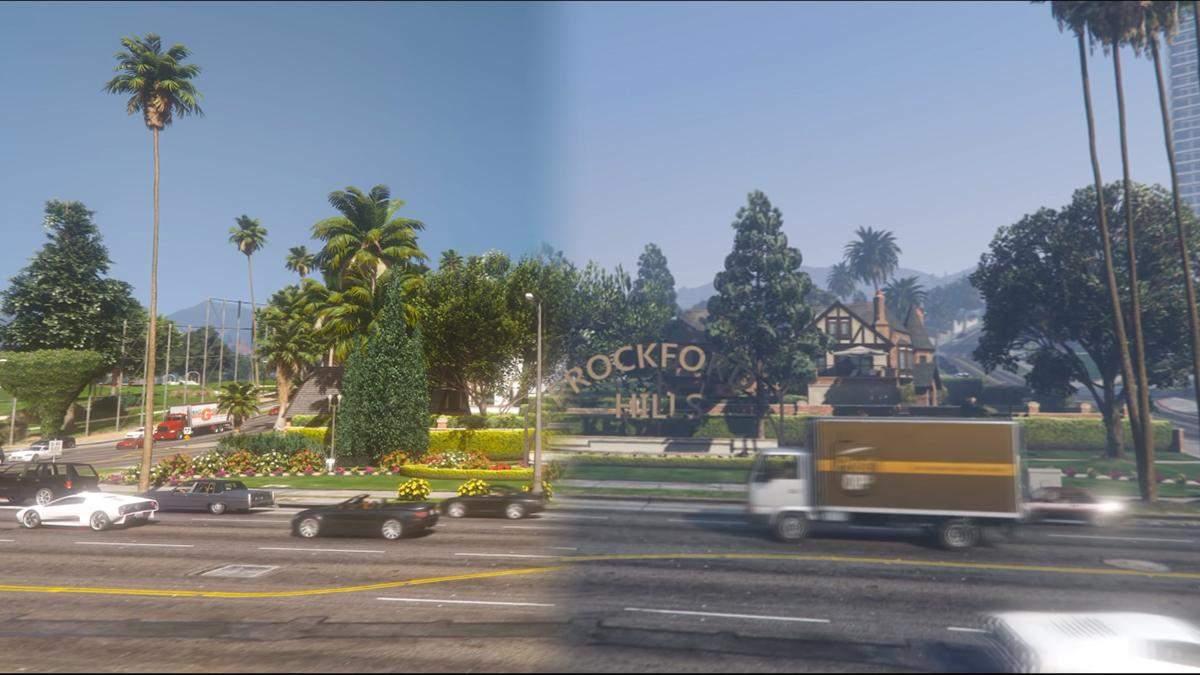 Фанат GTA 5 працює над  глобальним графічним модом для відеогри