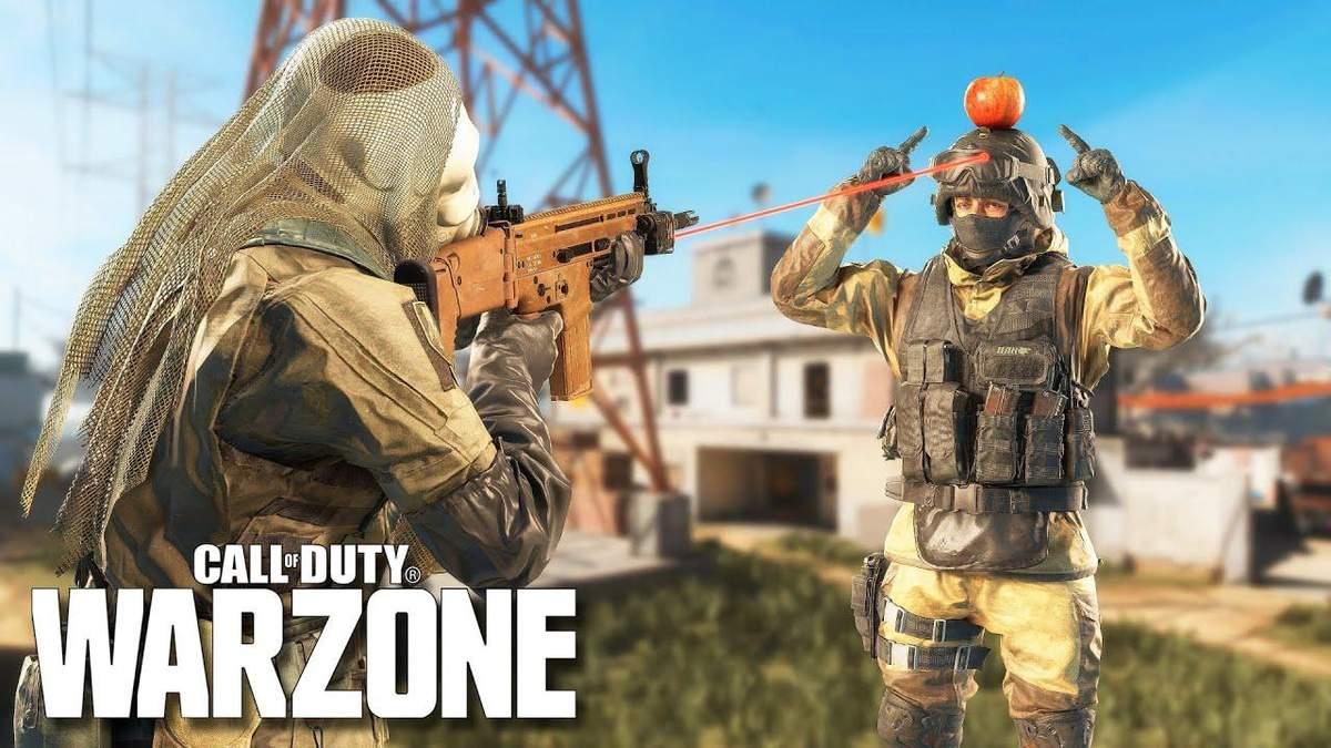 Потрясающие и забавные моменты из Call of Duty: Warzone