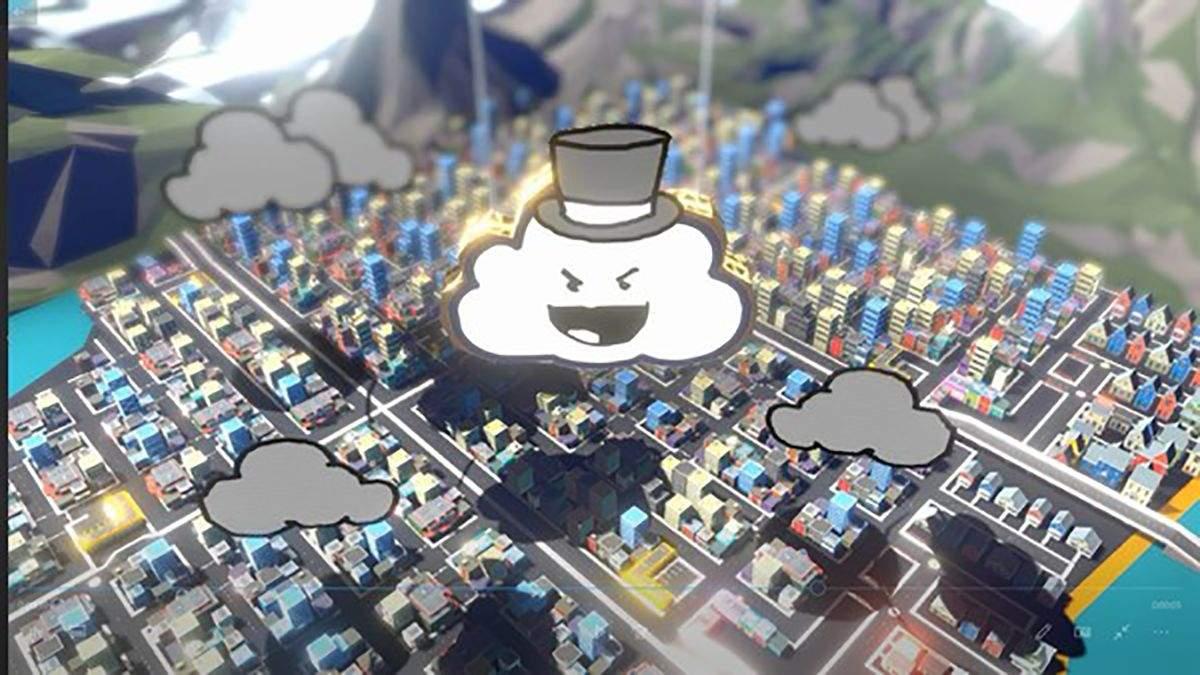 В Steam появился забавный симулятор подлого облака Rain on Your Parade