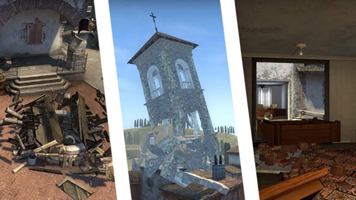 CS:GO из будущего: энтузиаст показал Inferno, которую можно разрушать