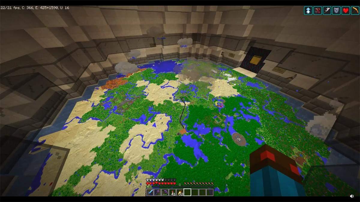 Симуляція погодних умов у Minecraft: чудернацький механізм ентузіаста