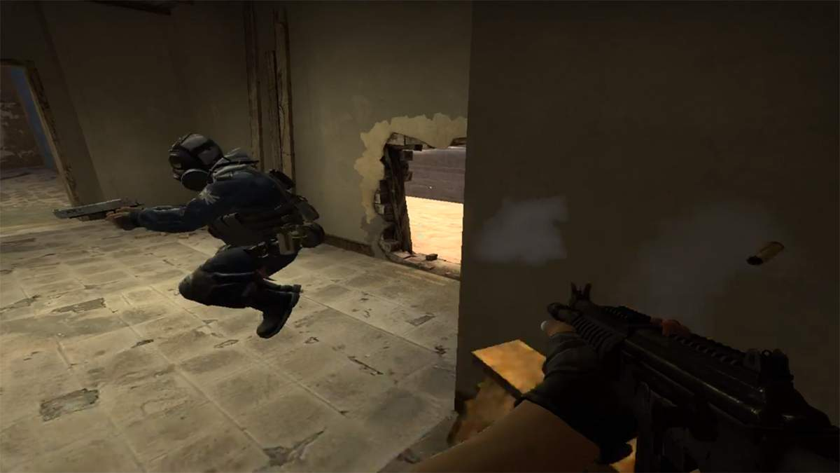 Игрок в CS:GO показал эффектный и полезный трюк на карте Mirage