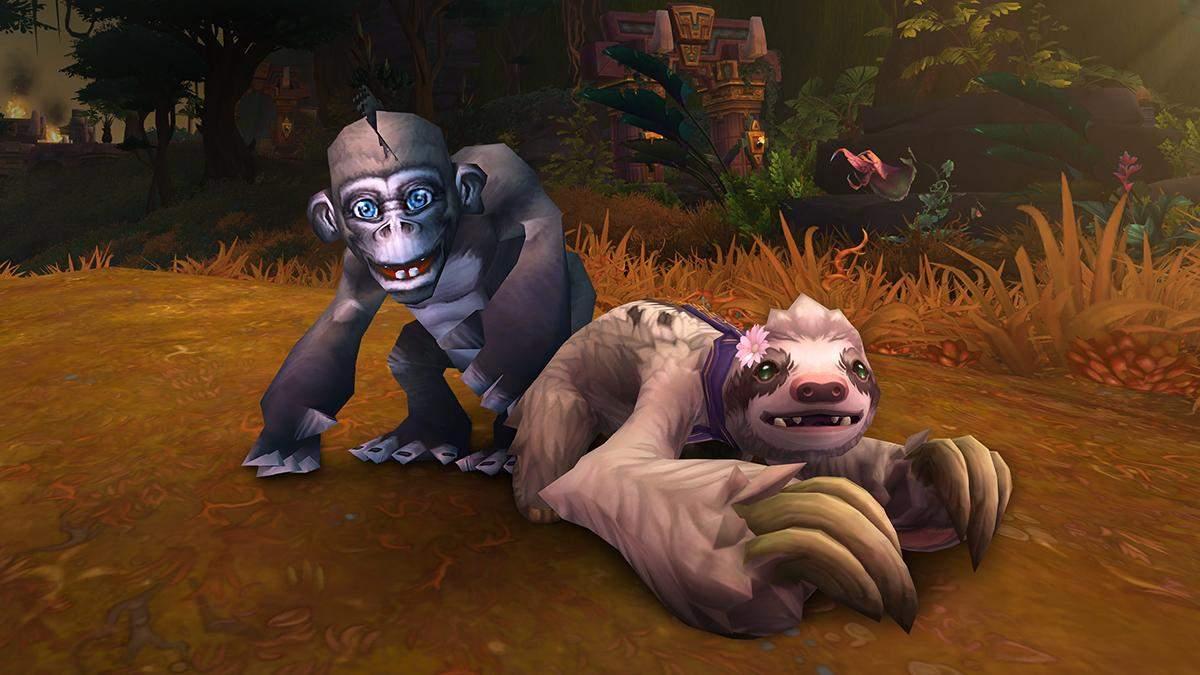 Бесплатные питомцы в World of Warcraft: благотворительная акция